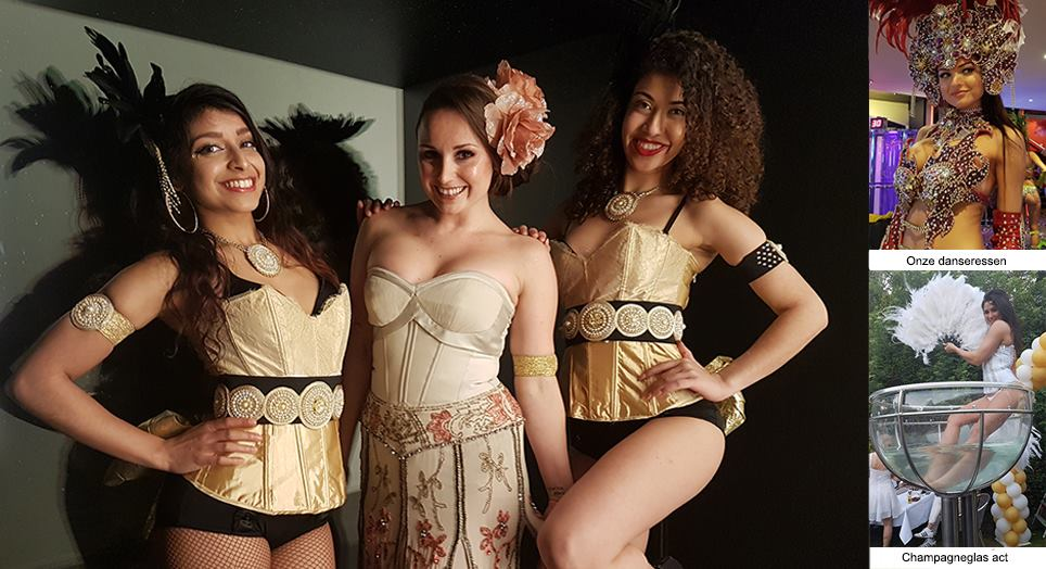 Burlesque hostesses en shows